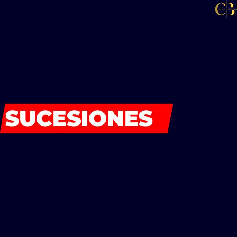 SUCESIONES